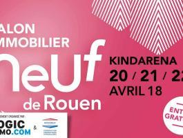 Venez nous rencontrer le 20 21 22 Avril auSalon de l'immobilier neuf de Rouen.