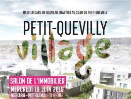 Présentation du Petit Quevilly Village au salon immobilier du 19 juin