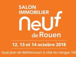 L'équipe PFN vous donne rendez-vous au Salon de l'immobilier neuf de Rouen du 12 au 14 octobre 2018.